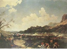 The 61st at the Battle of Maida